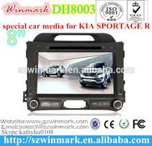 DH8003 Car DVD Player FOR KIA SPORTAGE R 2011 2012 2013 2014 Touch screen CD Video CD Mp3 Mp4 JPEG