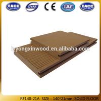 supply cheap wpc deck building flooring140*21mm