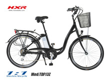 bright/red/low price electric city bike/bicycle with CE/velo electrique urbain