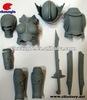 Fast Print Prototype, Weapon Parts, Plastic Action Figure