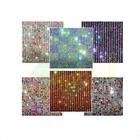 Colorful crystal rhinestone trim mesh garment accessories