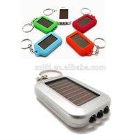 2014 summer hot selling solar led keychains,mini led lights for craf promotional gifts led flashlight solar energy ,