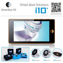 iSmartEye i10 Digital Door Peephole Viewer wireless doorbell 5.0inch LCD Screen