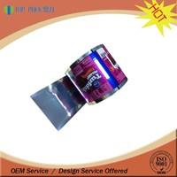 custom printing food grade material film roll aluminum polyester film foil / laminated packaging film