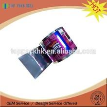 custom printing food grade material film roll bopp thermal lamination film / lamination packaging film