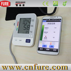 Fully Automatic Digital Upper Arm Blood Pressure Monitor Desktop Type Pulse Meter Auto Inflate Inflating / Deflate Diflating