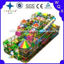 Children's Amusement park ride indoor soft play game equipment China supplier