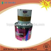 custom printing food grade material film roll food grade pure polyethylene film / lamination packaging film