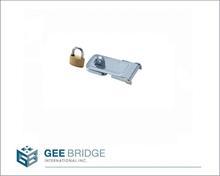 0206034 Steel Padlock and Hasp Combination