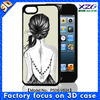2014 for phone cases iphone 5 with 3d image