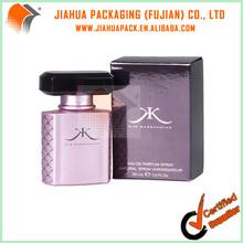 shiny paper mini perfume box