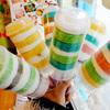 Custom breakfast ice cream/fruit/drink push pop container