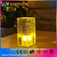 Square brick High Quality Fashion bar tables lamp