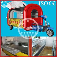 Stainless steel hot dog cart /street mobile food van for sale