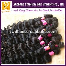 Grade 6A full cuticle 100% unprocessed fumi virgin full fix hair