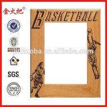 Funny female basketball photo frame