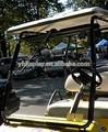 de acrílico para el parabrisas del coche de golf