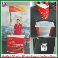 2014 new foldable promotion table is cheap price