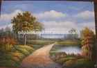 simple canvas art landscape oil painting