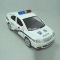 Yl369 dois estilos de táxi e a polícia 1:32 brinquedo modelo do carro, metal fundido carro do brinquedo, modelo de carro fundido