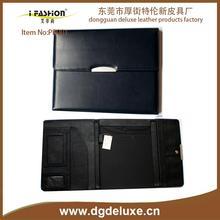 business embossed leather padfolio