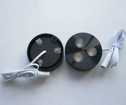 North American Style Dimmable LED Puck Light Kit, 3W Cree LED, high CRI, luxurious polishing