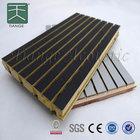 Types of Wood Veneer Maple Slot Panel
