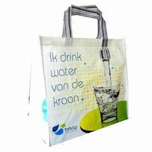 Big order wholesale organza croco nonwoven tote shopping bags from DDL company