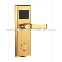 door sensor triggered rf card hotel lock management system LSLB118A