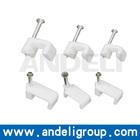 4mm 14mm cable clip plastic flat