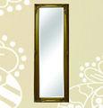 cadre miroir mural en bois de style campagnard
