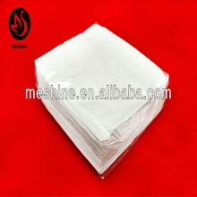 40*40 cm size 2 ply 1/4 fold white paper napkin wholesale