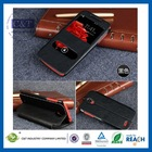 Different color pu leather case for lenovo a2107