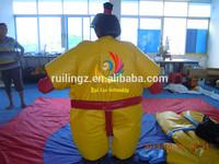 ruilin foam padded sumo suits/costume foam sumo/sumo suit wrestling