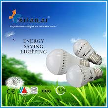 2013 the newest 80% energy-saving 7W sharp 6.3v Pinball Led Bulb E27