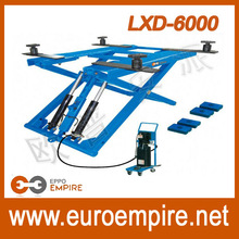 LXD6000 alibaba china supplier ce approved car lift ramps