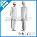 Anti- estático esd fábrica uniforme de segurança/esd trabalho roupa/esd cleanroom vestuário