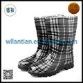 baratos de buena calidad de pvc transparente botas para las mujeres
