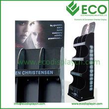 ECO Green Cardboard Display Shelf&Racks for Magazines CD Books, POP Display Stand