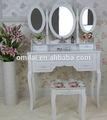 moderno de madera vestidor mesa de madera de diseño de muebles mesa de