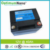 12V 40Ah lithium battery for solar light and led light