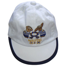 high quality summer embroidered baby sun cap