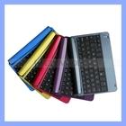 Colorful Ultra Thin Aluminium Bluetooth Keyboard Case for iPad Mini Keyboard
