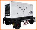 remolque de generador diesel conjunto