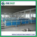 Pvc/eh wpc junta/perfil de extrusión de la máquina/de madera de la puerta de plástico de producción de tableros