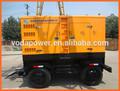 Remorque& silent électrogène diesel( dg generator set)