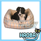 Gird Pattern Fluffy Personailzed Designer Pet Beds