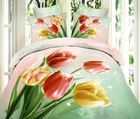 top selling home textile 3d picture bed sheet