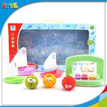 2014 new product funny baby toy vinyl mini good quality bath ship toy