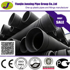 DN200 to DN800 large diameter plastic pipe HDPE poly drainage pipe concrete culvert pipe